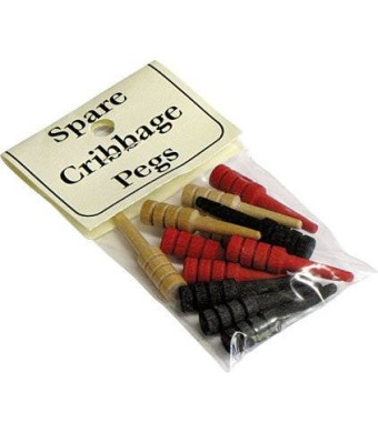 Maple Landmark Spare Cribbage Pegs, 12 pc. - Made in the USA