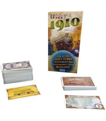 Days of Wonder Ticket To Ride 1910 Expansion