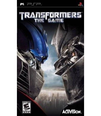 Activision Transformers the Game - Sony PSP