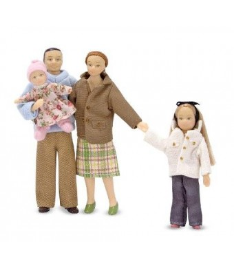 Melissa & Doug Melissa and Doug Victorian Doll Family