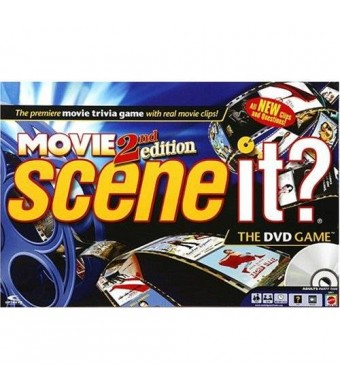 Mattel Scene It? DVD Game - Movies 2nd Edition