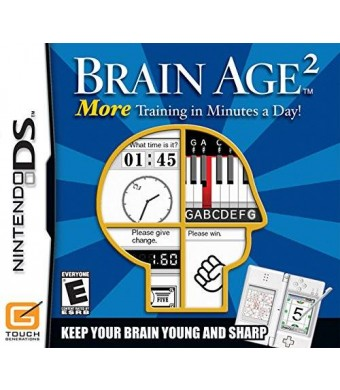 Nintendo Brain Age 2: More Training in Minutes a Day!