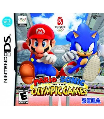 Sega Mario and Sonic at the Olympic Games - Nintendo DS