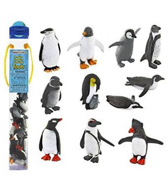 Safari Ltd. Safari Ltd Penguin TOOB With 11 Fun and Flightless Figurines