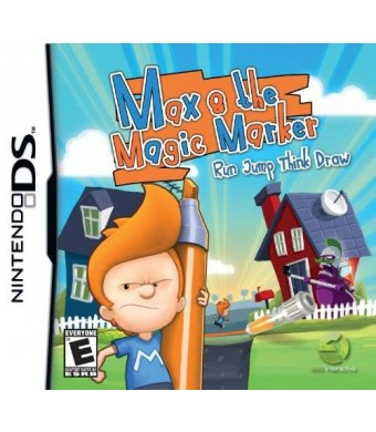 Easy Interactive Max and the Magic Marker - Nintendo DS