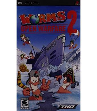 Worms 2 Open Warfare - Sony PSP
