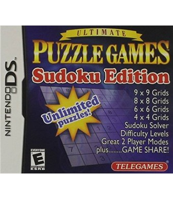 Telegames Puzzle Games Sudoku Edition - Nintendo DS