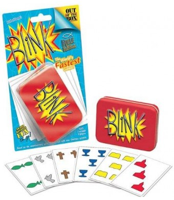 Cactus Games Blink Bible Edition card game