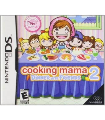 Majesco Cooking Mama 2: Dinner With Friends - Nintendo DS