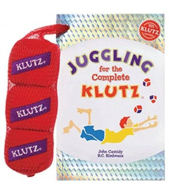 Klutz Juggling Book Kit-