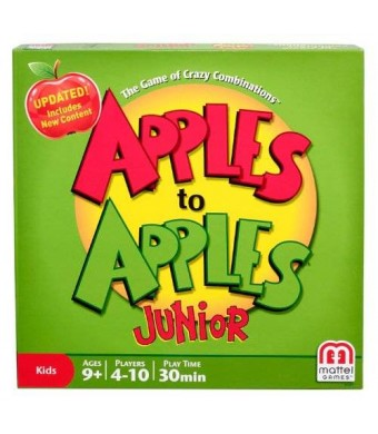 Mattel Apples to Apples Junior - The Game of Crazy Combinations!