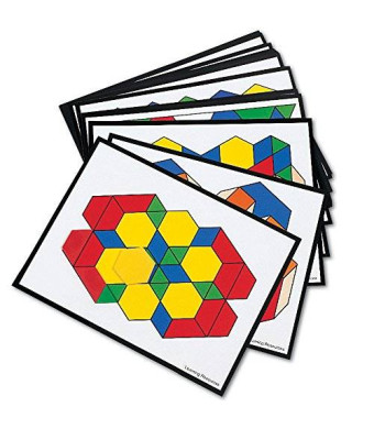 Learning Resources Pattern Block Design Cards