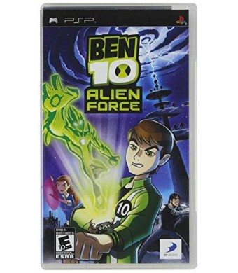 D3 Publisher Ben 10 Alien Force - Sony PSP