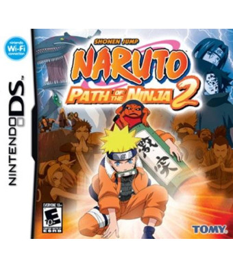 D3 Publisher Naruto: Path of the Ninja 2 - Nintendo DS
