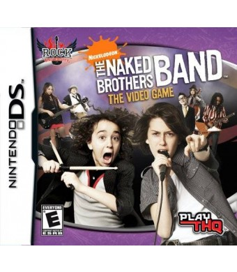 THQ Naked Brothers Band - Nintendo DS