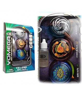 Yomega 3 Piece Gift Set