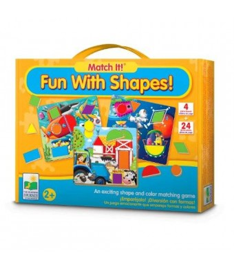 The Learning Journey Match It! Fun with Shapes Game