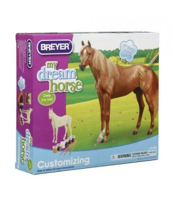 Breyer My Dream Horse Customizing Thoroughbred