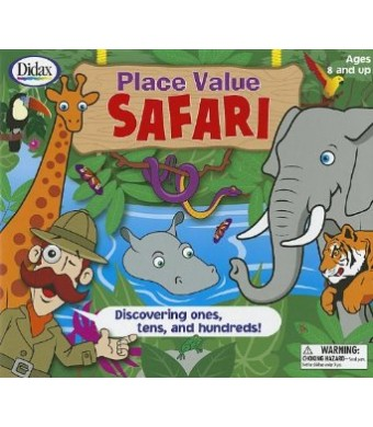 Didax Place Value Safari: Discovering Ones