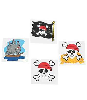 OTC Pirate Tattoos Favors 36 per package [Toy]