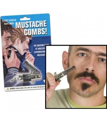 Accoutrements Switchblade Mustache Comb