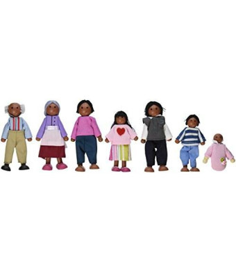 KidKraft Doll Family of 7 African American - Variations