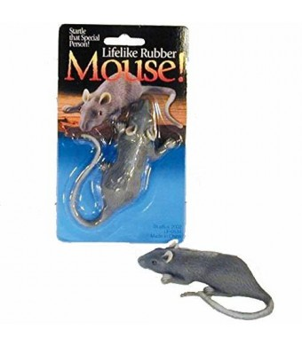 Lifelike Rubber Mouse Gag - Prank Your Friends