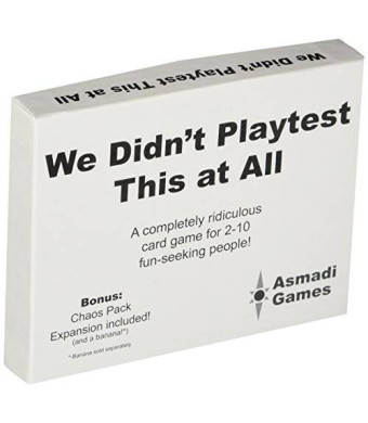 Asmadi Games We Didn't Playtest This at All - With Chaos Pack