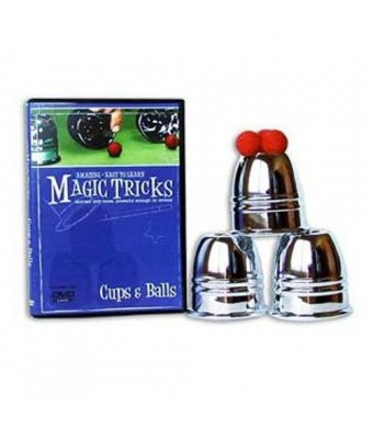 Magic Makers Amazing Easy To Learn Magic Tricks- Cups and Balls Combo