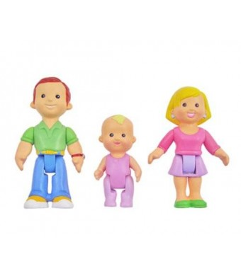 Fisher-Price Fisher Price My First Dollhouse: Caucasian Family