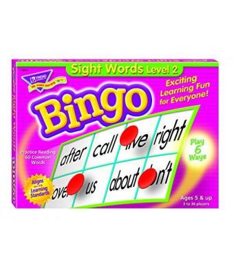 Trend Enterprises Inc Sight Words Level 2 Bingo Game