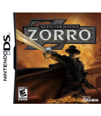 505 Games Zorro - Quest for Justice - Nintendo DS