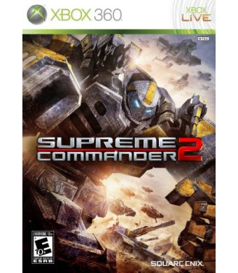 Square Enix Supreme Commander 2 - Xbox 360