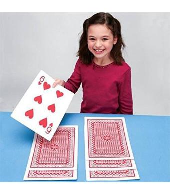S&S Worldwide Super Jumbo Playing Cards