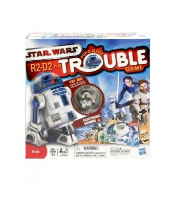 Hasbro Trouble R2 - D2 Is In Trouble Game
