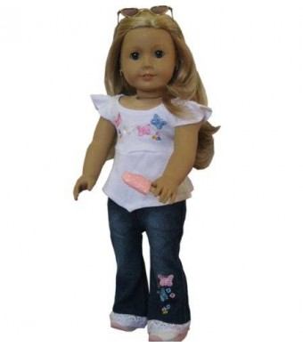 Doll Club of America Jeans Set fits 18 Inch Doll Clothes