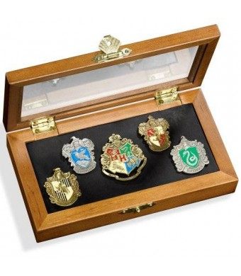 Harry Potter House Crest Pin Set