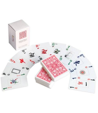 Yellow Mountain Imports American Mah Jongg Playing Kards Cards