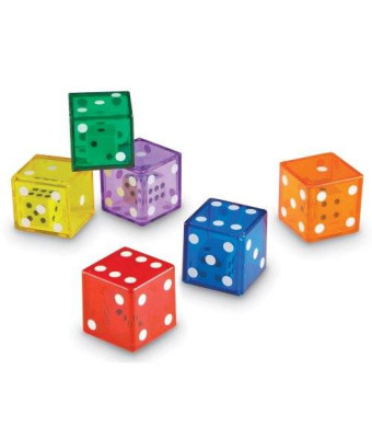 Learning Resources Jumbo Dice Inches Dice