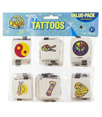 US Toy Retro Temporary Tattoos
