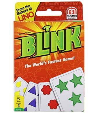 Mattel Blink Card Game The World's Fastest Game