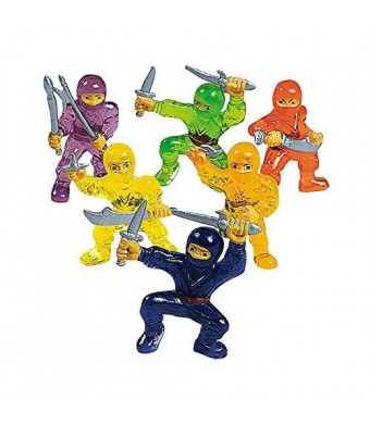 RIN 48-pc Toy Ninja Warriors