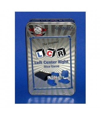 LCR Left Center Right Dice Game - 25th Anniversary Collector's Tin