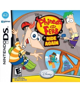 Disney Phineas and Ferb Ride Again - Nintendo DS