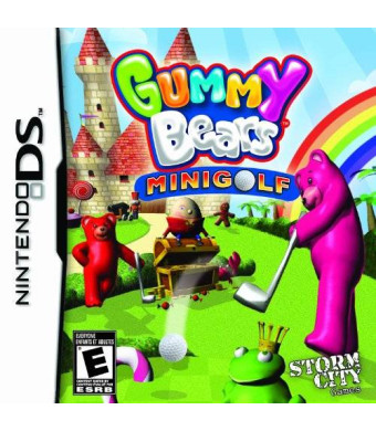 Solutions 2 Go Gummy Bears Mini Golf - Nintendo DS