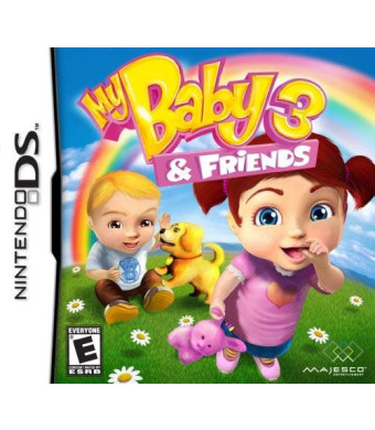 Majesco My Baby 3 and Friends - Nintendo DS