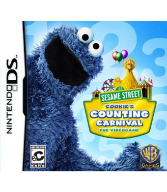Warner Brothers Sesame Street: Cookie's Counting Carnival - Nintendo DS