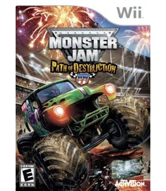 Activision Monster Jam: Path Of Destruction