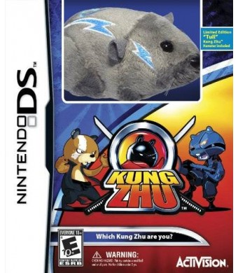 Activision Kung Zhu with Gift - Nintendo DS (Limited Edition with Hamster)
