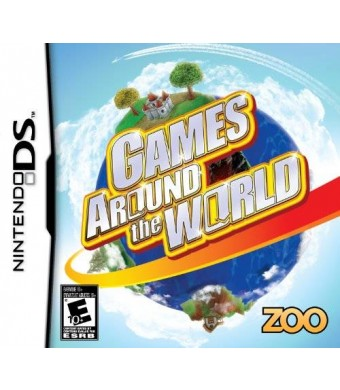 Zoo Games Games Around The World - Nintendo DS
